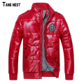 TANGNEST 2017 Hot Sale Men's Jacket Winter Overcoat Warm Padded Jacket  Male Fashion Winter Coat Whole Sale MWM246