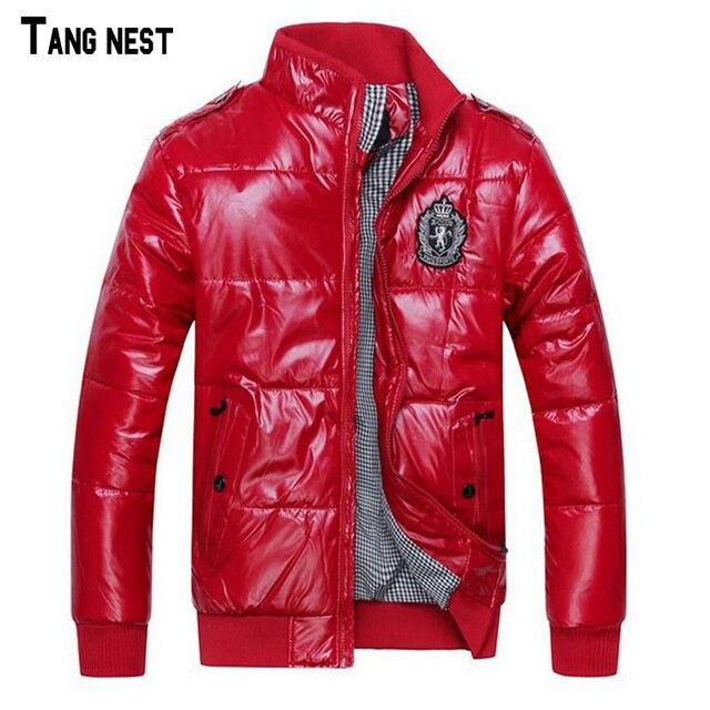 TANGNEST 2017 Hot Sale Men's Jacket Winter Overcoat Warm Padded Jacket  Male Fashion Winter Coat Whole Sale MWM246