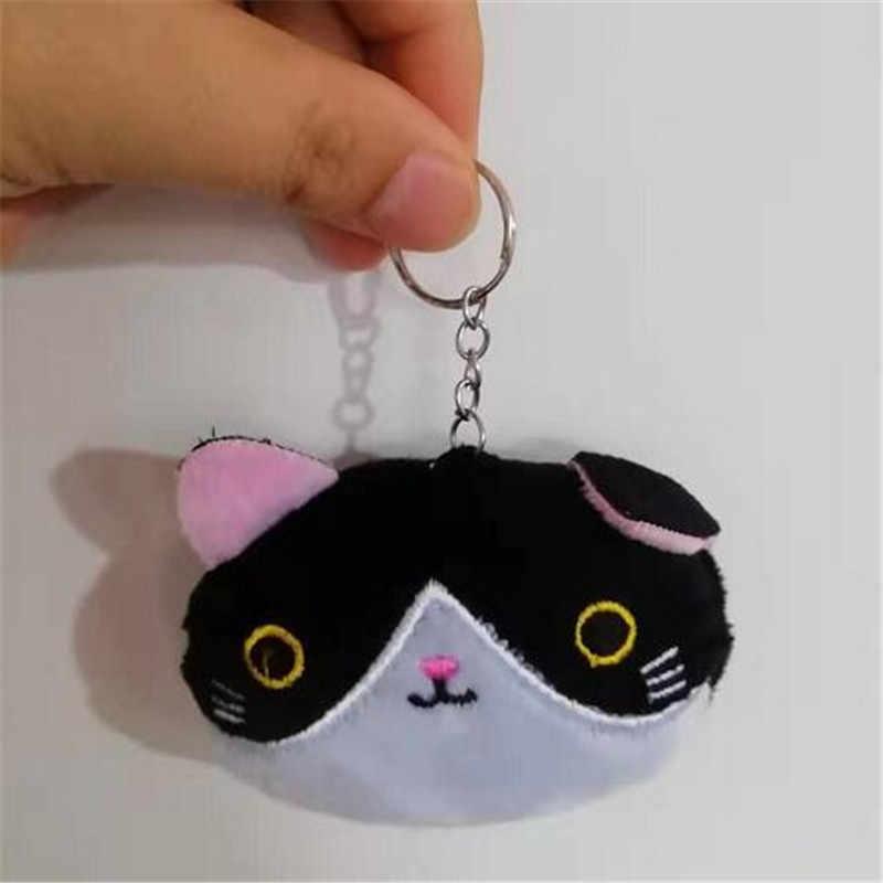 1 Pcs Lucu Plush Kucing Mainan Kecil Liontin 6 Desain Boneka Lembut Kucing Mainan Boneka Anak Teman Bermain Valentine Hadiah 8CM