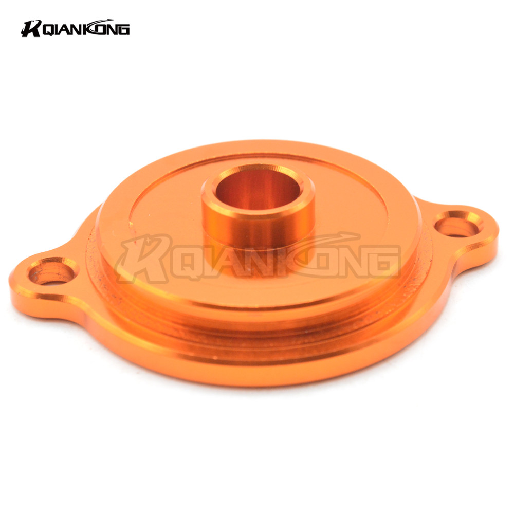 For KTM 125 200 390 Duke RC 200 390 690 DUKE R Enduro SMC SM SMC R 1190 Adventure RC8 CNC Motorcycle Engine Oil Filter Cover Cap in Covers Ornamental Mouldings from Automobiles Motorcycles
