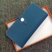 купить High Quality Long Women Wallets 2018 Ladies Wallets Genuine Leather Brand Standard Wallet Female Holder Girl Solid Coin Purse по цене 3549.93 рублей