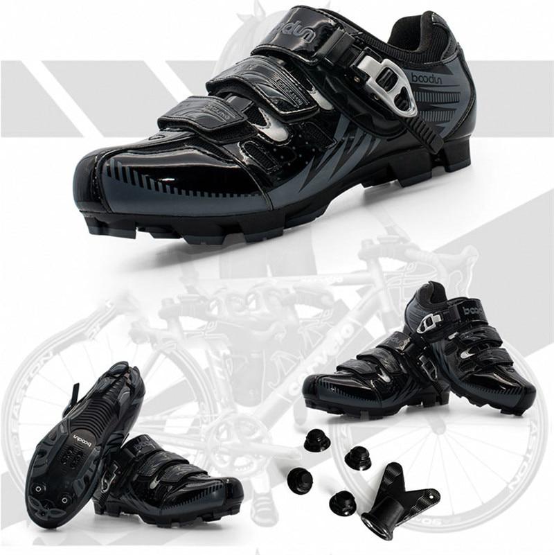 Esportes ao ar Sapatos de Bicicleta de Montanha Quente Ciclismo Sapatos Adulto Criança Livre Respirável Não-deslizamento Profissional Auto-bloqueio Mtb