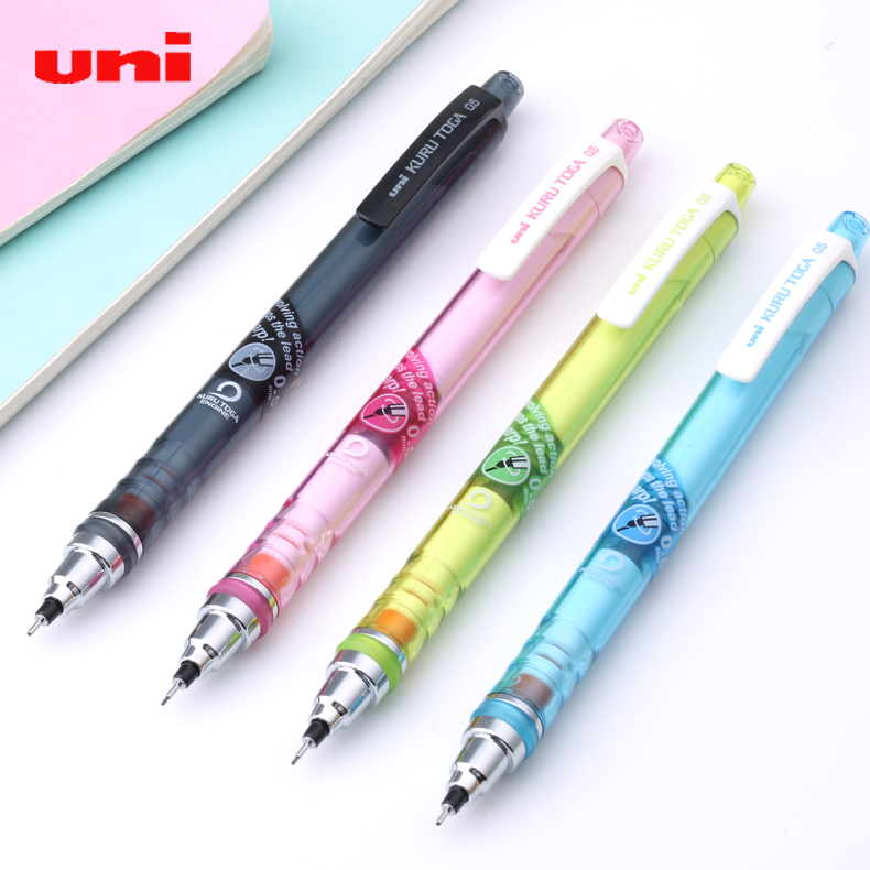 japan 39 s mitsubishi uni m5 450t mechanical pencil kuru toga 0 5 mm mechanical pencil 1pcs in. Black Bedroom Furniture Sets. Home Design Ideas