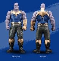 Thanos Infinity Gauntlet 330mm Avengers Infinity War Superhero PVC Action Figures Iron Man Anime Avengers Thanos Movable Toy