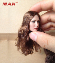 1/6 Elizabeth Olsen Scarlet Witch Head Blond Female Sculpt  For 12 HT Action Figure ZC TOYS