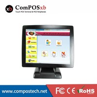 15 inch cash register terminal end machine 15 inch pos touch all in one pc pos system