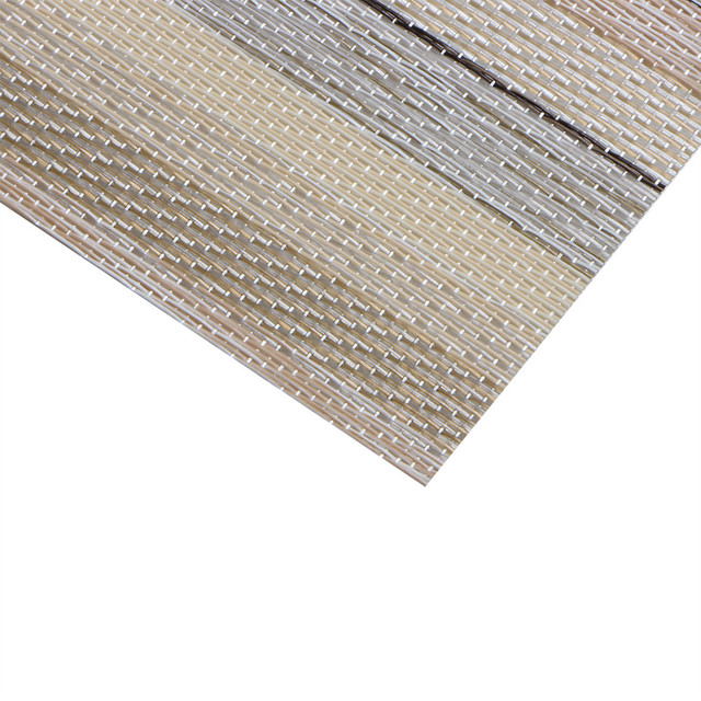 Placemat Christmas Placemat Woven Non-slip PVC Insulation  4
