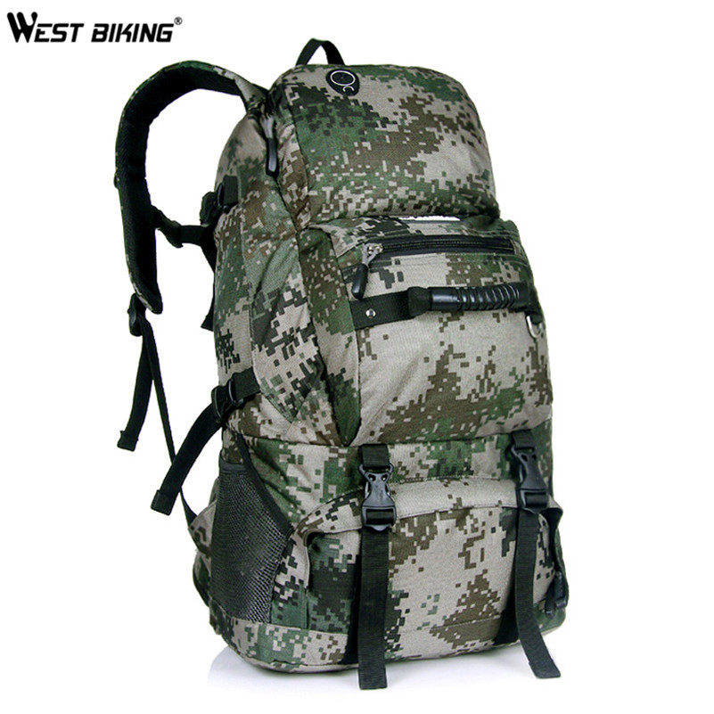 WEST BIKING Male Roads Cycling Bag Rucksacks Road Knapsack Riding Sport Backpack Ride pack 55L Mountain Bag Cycling Bag maleroads profession bicycle rucksacks bike knapsack road cycling bag riding bag running packsack sport backpack ride pack 15l