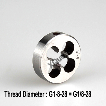 XQuest pipe thread Round die G RC ZG R 1/4-19 1/8-28 3/8-19 1/2-14 3/4-14 American tapered die NPT 1/16 1/4 1/8 3/8 1/2 3/4