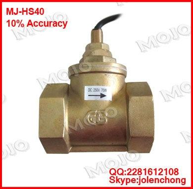 все цены на free shipping !  MJ-HS40 G11/2'' Piston flow switch
