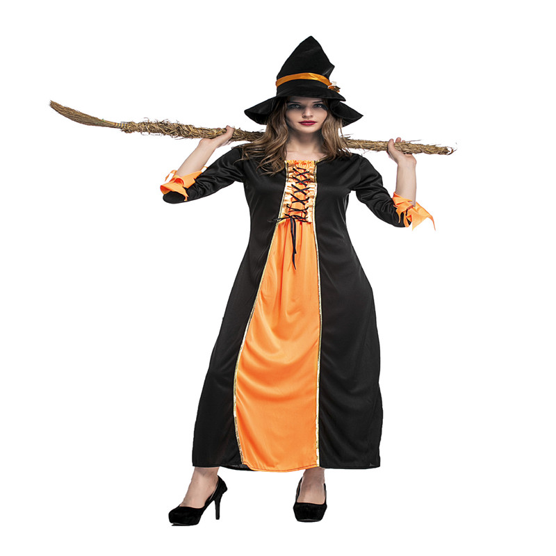Halloween Costume Adult Witch Witch Costume Cosplay Bar Party Performance Costume