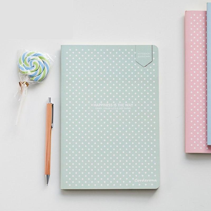 Dot Grid Kugel Notebook Schreibwaren Gitter Kreative Journaling Buch Einfache Weiche Abdeckung Gepunktete Journal Bujo