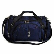 Lightweight Training Bag Canvas Outdoor Large Capcity Women Travel Independent Shoe Position Fitness Handbag Sport Bags