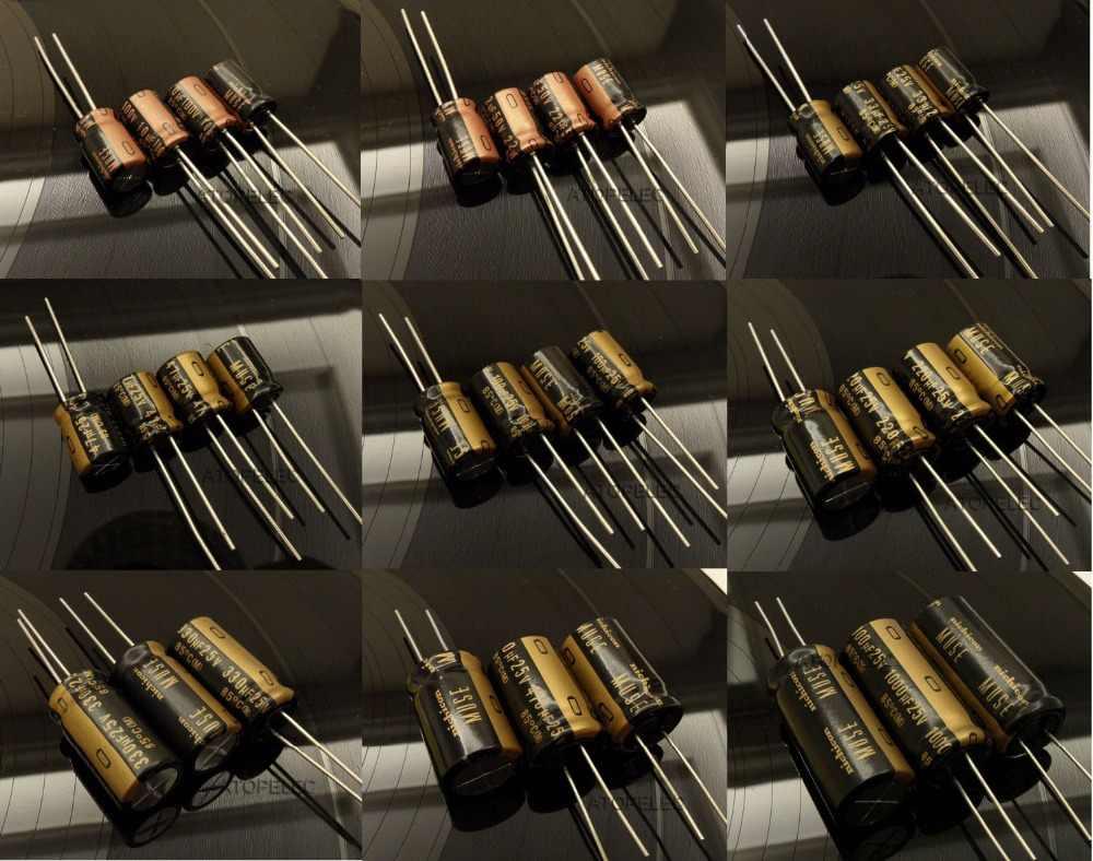 1 máy tính MỚI Nichicon MUSE KZ Tụ điện Âm Thanh Hi-Fi Tụ Điện 10 uF/22 uF/33 uF/ 47 uF/100 uF/220 uF/470 uF/1000 uF 25 V/50 V/ 100V