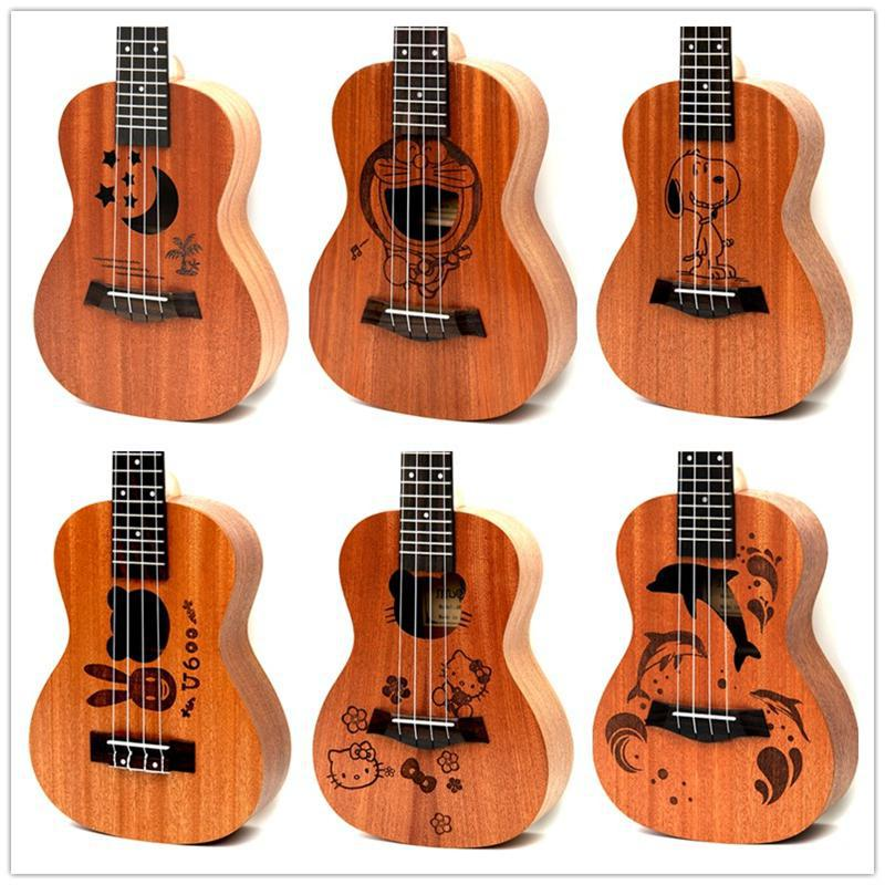 Dean Guitars Ukulele Travel Uke: Hot Selling SevenAngel 23 Inch Cartoon Ukulele Concert