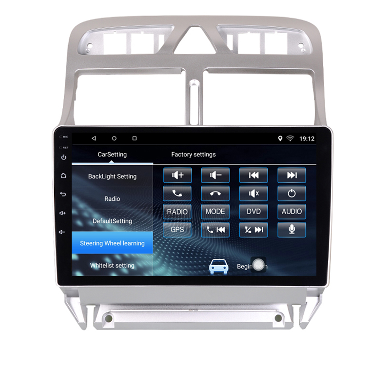 Android 8 1 Car DVD Multimedia Player GPS Navigation For peugeot 307 2004  to 2013 with bluetooth built in wifi 2G RAM 32G ROM