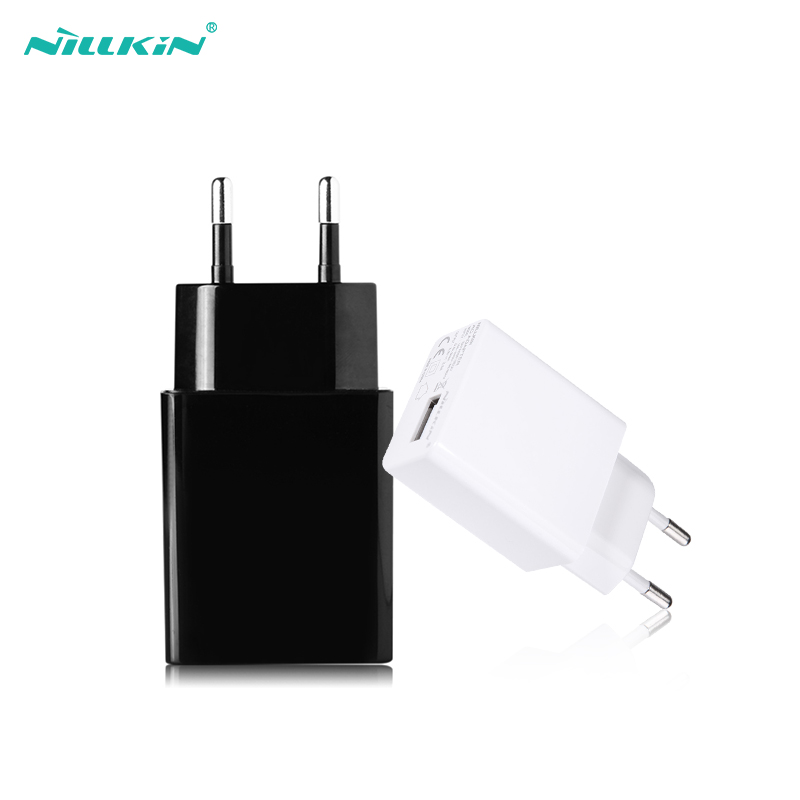 Nillkin Carregador USB 2A Top rápido Carregador de Telefone Celular USB adaptador de Parede Plugue Do Carregador Do Telefone para o iphone X/8 para Xiaomi Para Samsung