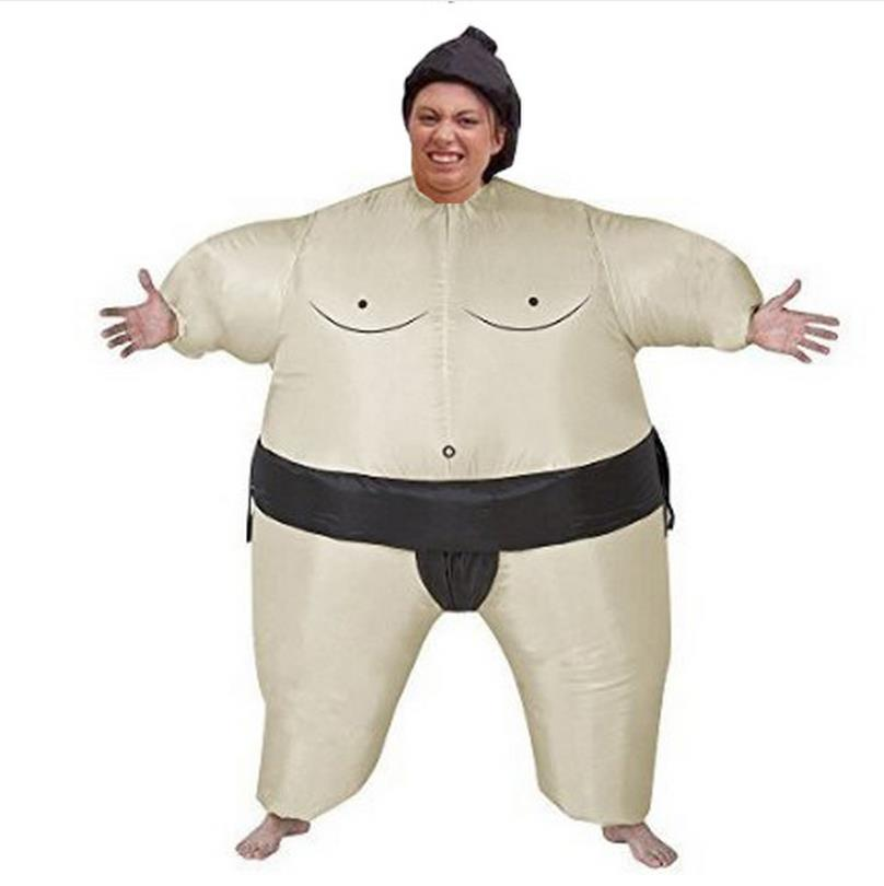 Fan Operated Inflatable  Sumo Suits Costume Sumo Wrestling Suits Outfits Halloween Purim Costumes Party Christmas Gift