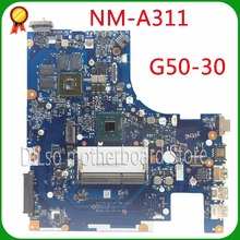 KEFU NM-A311 for Lenovo ACLU9 / ACLU0 NM-A311 MAIN BOARD For Lenovo G50-30 Laptop Motherboard DDR3 with Processor 100% tested