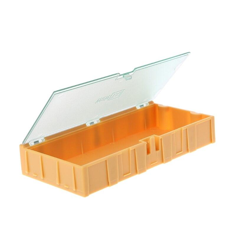 Werkzeug Organisatoren Werkzeuge Zielsetzung Mini Smd Smt Elektronische Box Ic Elektronische Komponenten Lagerung Fällen 125x63x21mm HöChste Bequemlichkeit