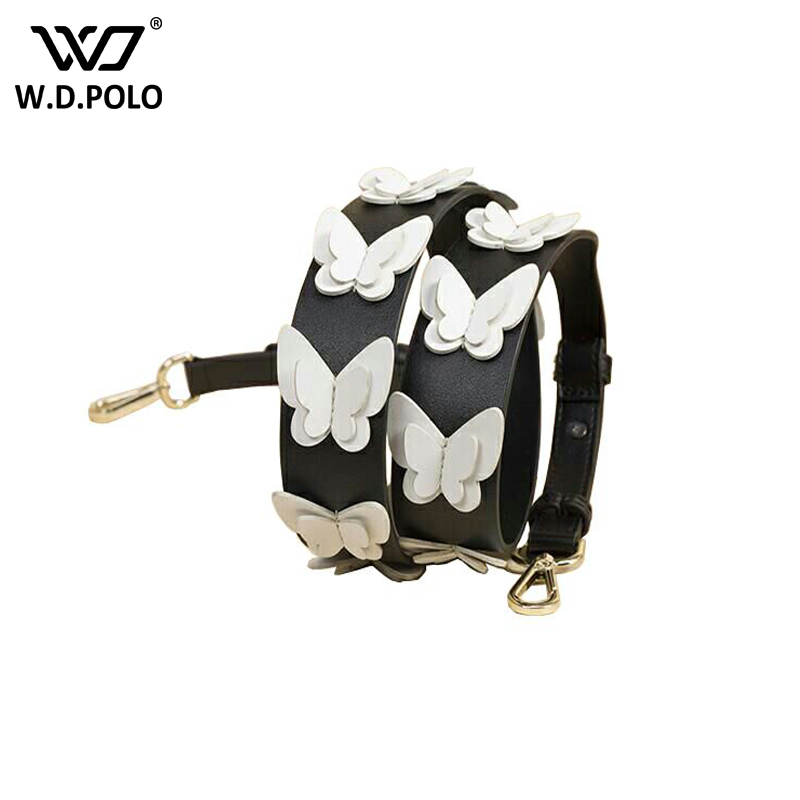 WDPOLO strapper you New Fashion Rivet Handbags Belts Women Bag Strap Women Bag Accessory Bags Parts handle for bags Q1187 sorores semper new handbags strap women genuine leather belts embroidery bag parts cow leather accessory pj021