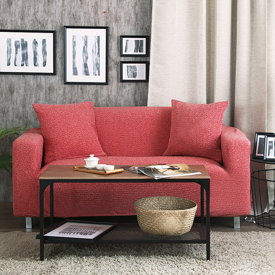 Modern Sofa Cover Slipcovers Elastic Cheap Solid Slipcover Couch Coverloveseat Living Room