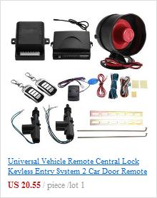 portas para carros kit + alarme antirroubo conjunto de ferramentas,