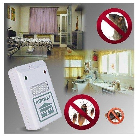 as seen  tv High quality Free shipping Riddex Plus As Seen On TV Pest Repellent Repelling Aid Rodent Mosquito Roaches Repeller