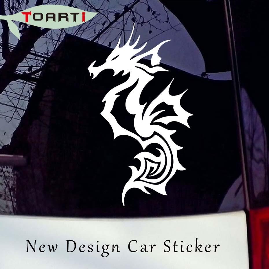 8 915 3 cm desain khusus kuda laut stiker ikan mobil stiker tahan air yang dapat dilepas vinyl truk dekorasi accessorie desain kreatif di mobil stiker dari