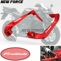 Universal 7/8 22mm Motorcycle Handlebar Brake Clutch Levers Protector GuardFor Honda FIREBLADE CBR 1000 RR 2004 2007