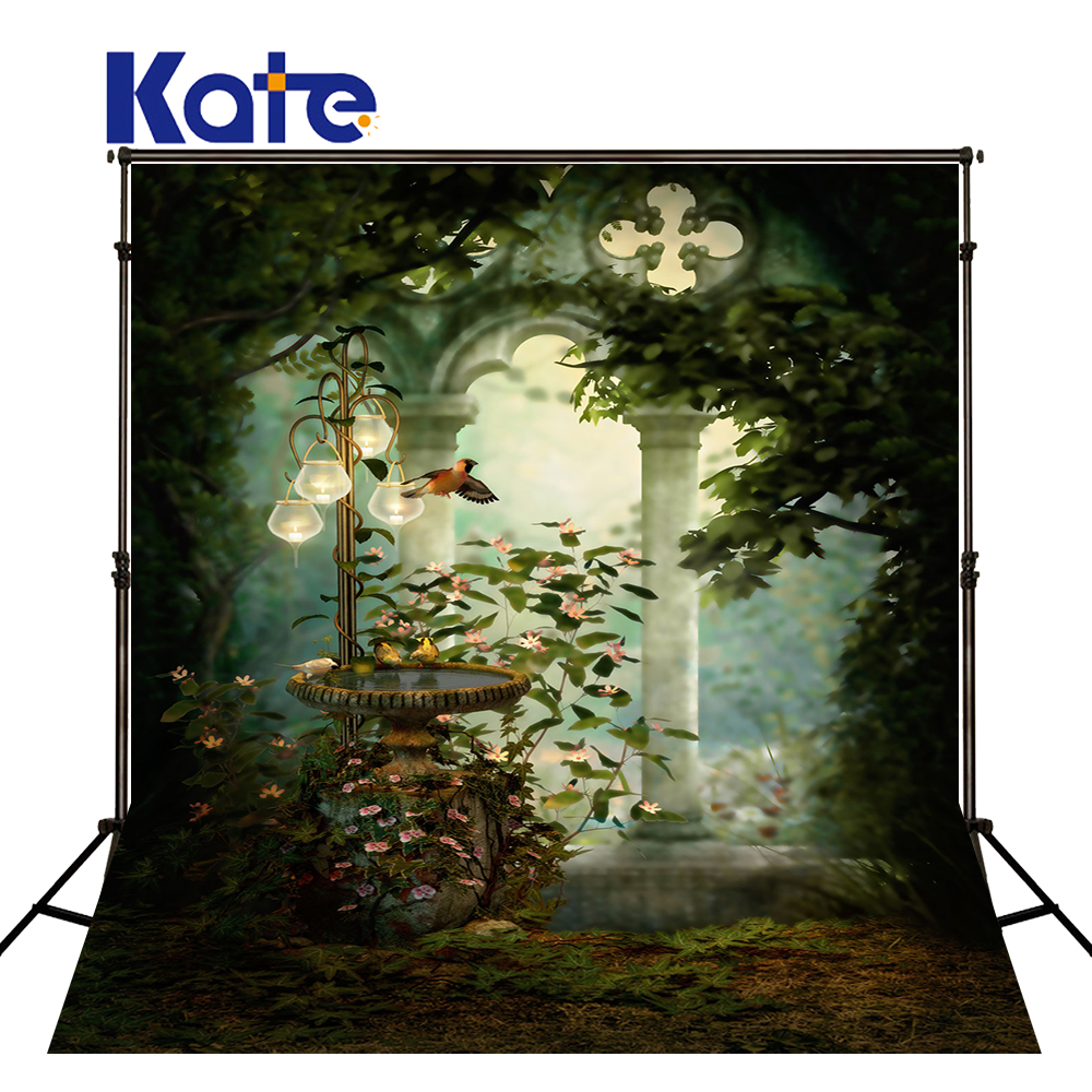 KATE Photo Background Scenic Photography Backdrops Forest Background Photography Backdrops Seamless Photo For Studio kate photo background scenery