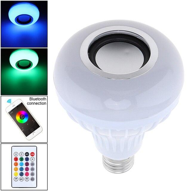 Aliexpress.com : Buy 12W E27 RGB Bluetooth Speaker LED Magic Light ...