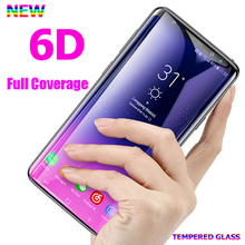 Screen Protector Film Tempered Glass For Samsung Galaxy S9 S10 S8 Plus 6D Full Curved Glass Film For Samsung Note 9 8 S7 S6 Edge все цены