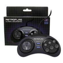 Retroflag MEGAPi/NESPi/SUPERPi Case/Retropie Classic USB Wired Gamepad Game Controller M for PC/Switch/Rasbperry Pi 3ModelB+Plus