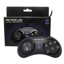Retroflag MEGAPi/NESPi/SUPERPi чехол/Retropie Classic USB проводной геймпад игровой контроллер M для ПК/переключателя/распарри Pi 3ModelB + Plus