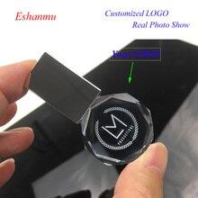 Eshanmu OEM логотип круглый флеш-накопитель с кристаллами USB флэш-накопитель фотографа 8 ГБ 16 ГБ 32 ГБ Бесплатный Логотип более 25 шт