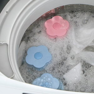 Removedor de pelo reutilizable, bolas de depilación de lavandería para lavadora, Bola de limpieza de ropa flotante para receptor de pelo de mascota