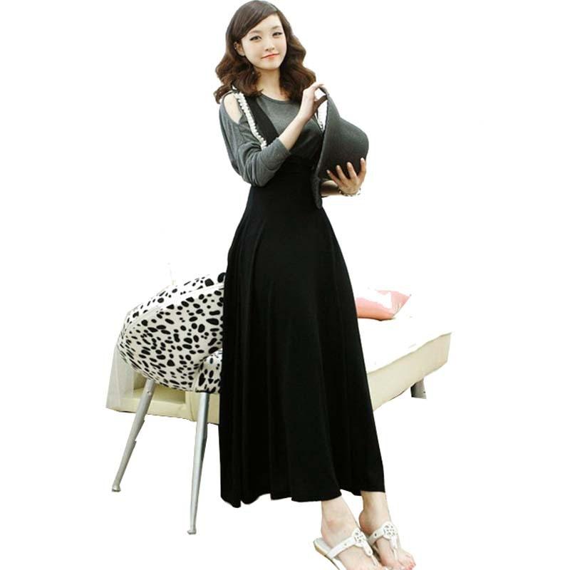 Popular Long Black Cotton Skirt-Buy Cheap Long Black Cotton Skirt ...