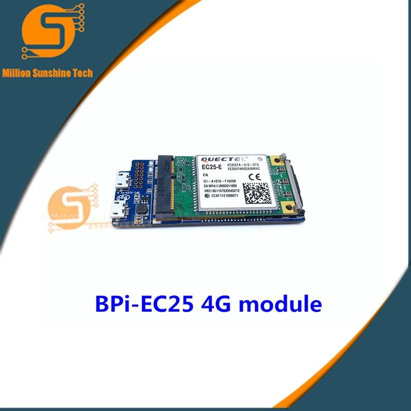 Banana pi Bpi-EC25 4G Full-Netcom wireless communication module for BPI R2 free shipping free shipping new ph300f280 24 ph300f280 24 pi module
