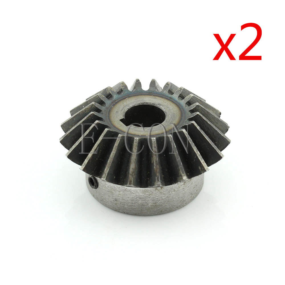 1.5M-20T Metal Umbrella Tooth Bevel Gear Helical Motor Gear 20 Tooth 8mm Bore