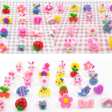 Mixed Toys Candy Kids Children's for Baby Girl Decorations Wholesale Resin-Ring Colorful