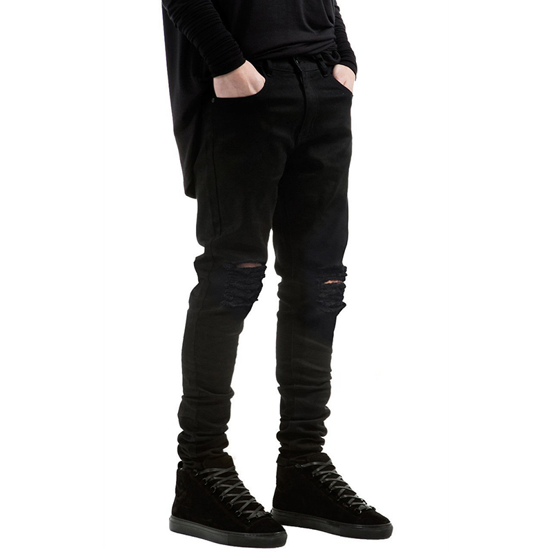 Jeans Men Pants Fear of God Trousers Pant Boost Biker Balmai Man Printing Masculina Ripped Jean Women Black Casual Destroyed