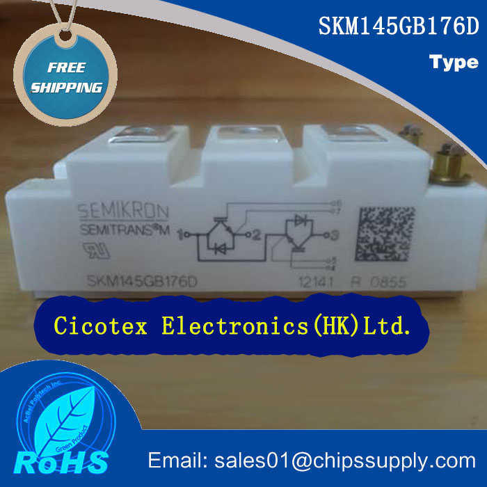 IC SKM145GB176D Power IGBT moduleIC SKM145GB176D Power IGBT module