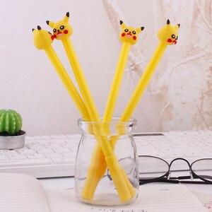 Image 2 - 36 PCs Korea creative cartoon gel pen cute pocket pen student stationery