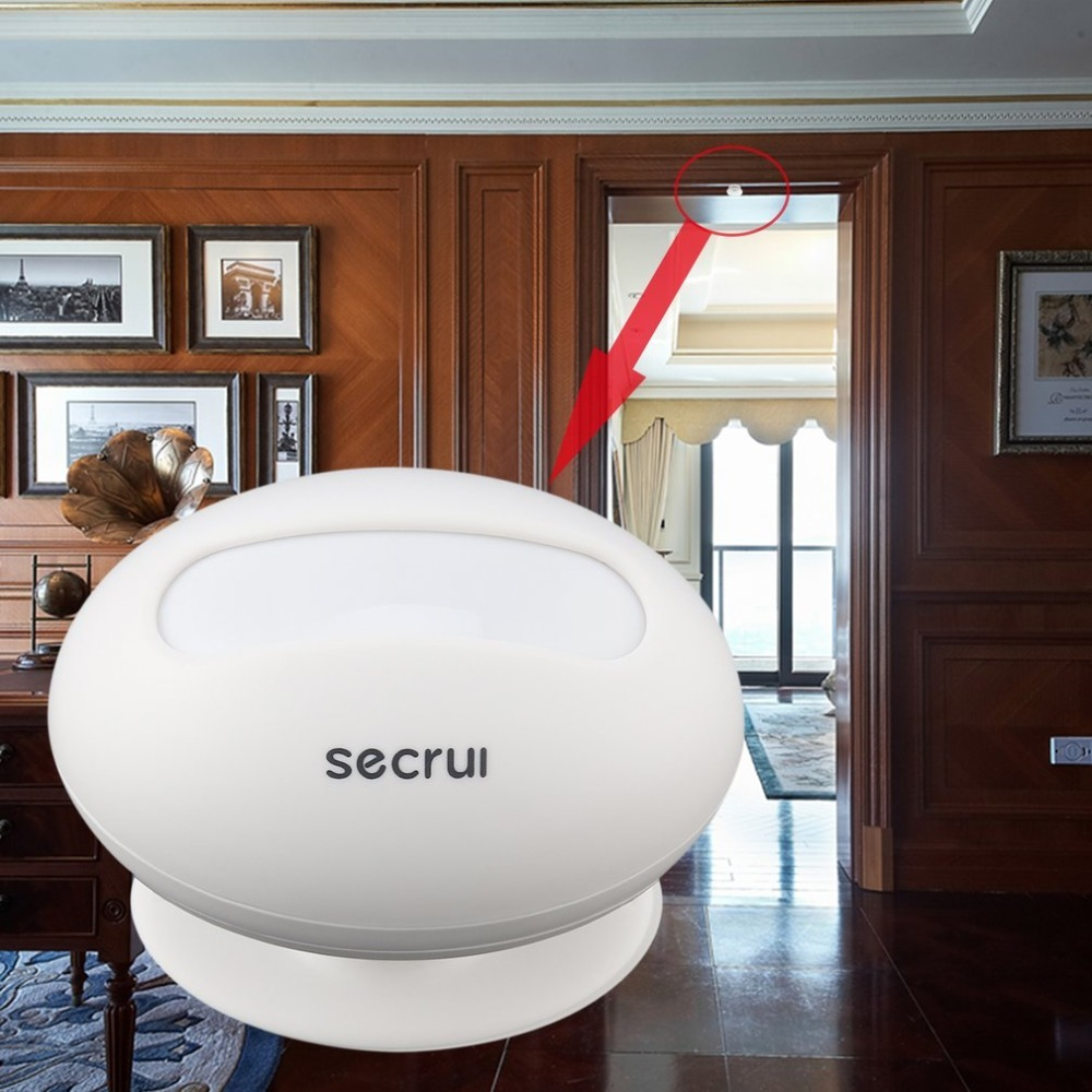 SECRUI P827 Wireless Curtain Detector PIR Infrared Motion Sensor Detector Burglar Alarm System for Home Business Safety Hot sale 2017 kerui new wireless infrared detector curtain sensor pir detector burglar alarm system motion detector free shipping