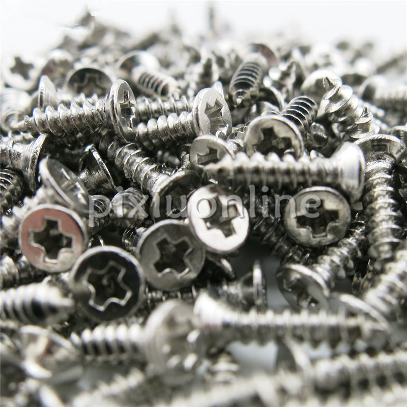 100pcspack J250b Flat Head Philip's Screws DIY Small Self-tapping Screws Stainless Steel M2*8 Free Shipping Sell at a Loss