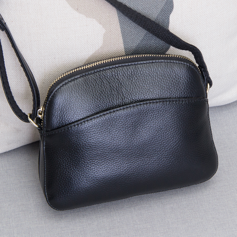 Hot slae New Item Genuine leather small messenger bags for ladies handbags female cowhide shopping packs single shoulder bag women genuine leather handbags ladies personality new head layer cowhide shoulder messenger bags hand rub color female handbags