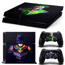 PS4 Skin Sticker – Batman for Sony PS4 PlayStation 4 and 2 controller skins #6345