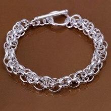 2016 Hot Silver Color Jewelry bracelet, silver plated wristlet vintage-accessories Bracelet /JFKTFEQE RQLTRWNHI