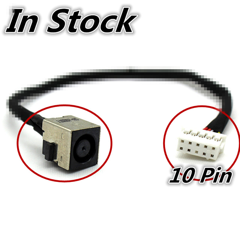 New Laptop DC Power Jack Cable Charging Port Wire Cord For HP EliteBook 8760W 8760P <font><b>8770W</b></font> image